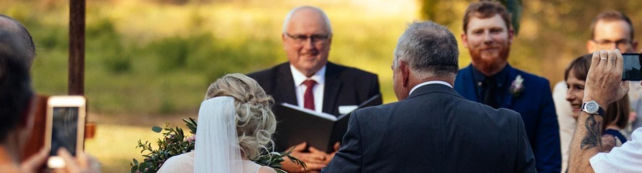 Rustic Wedding with Brisbane Celebrant
