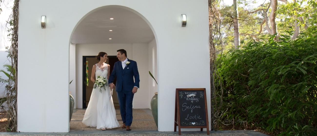 Royal Pines Chapel Wedding with Brisbane Celebrant