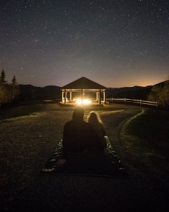 Go stargazing and fall in love again