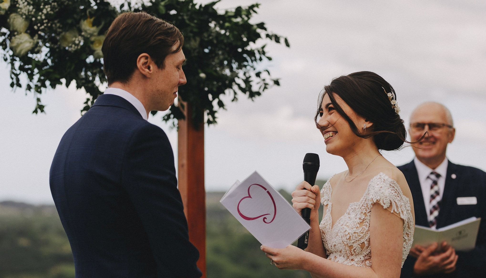Emily and Luke's Summergrove Wedding with Brisbane Celebrant Michael Janz